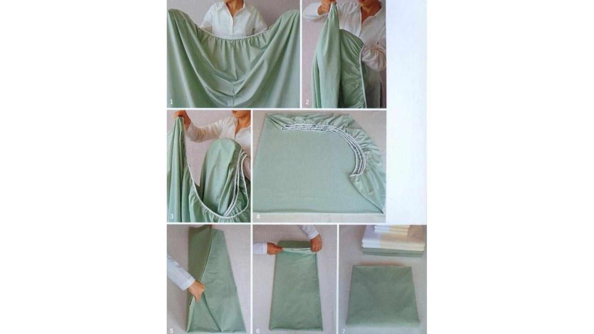 Как сшить простынь на резинке фото