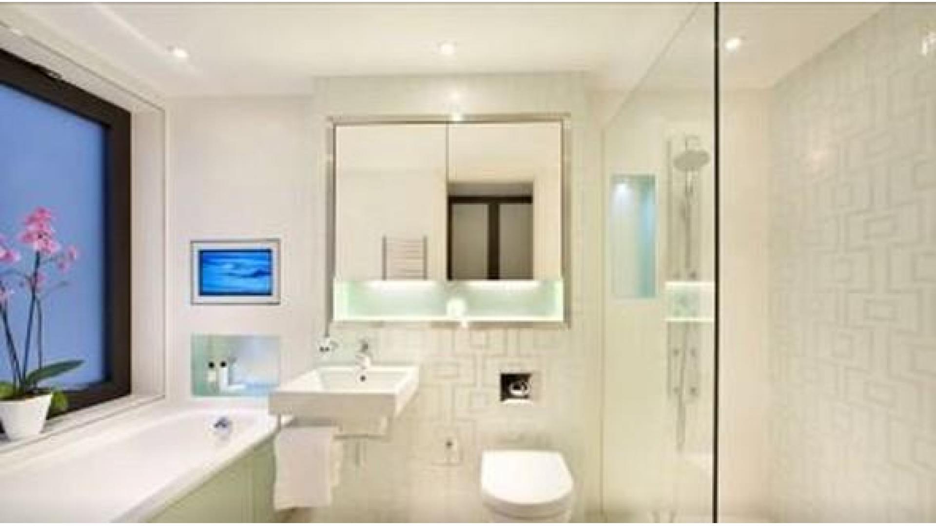 Дизайн освещения в туалете