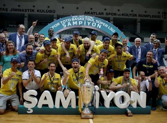 2016/17 sezonu şampiyonu Fenerbahçe!